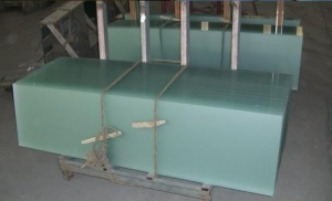 China Acid etched glass door on sale