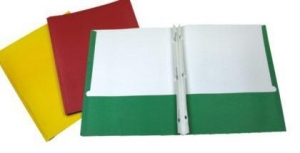China TWIN POCKET FOLDER WITH 3 PRONGS on sale