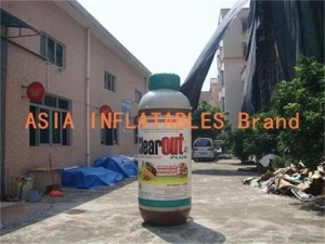 China Air Sealed 2.8m High Inflatable Systemic Weed Killer Bottle on sale
