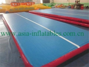 China Portable Drop Stitch Material Gymnastics Inflatable Air Tumble Track on sale