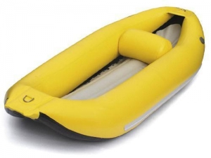 China Full Color Yellow Inflatable Kayak Boat - 1 Person on sale