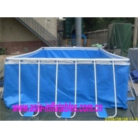 Metal Frame Swimming Pool with Sand Filter Pumps