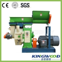 China KINGWOOD factory best sale stalk straw biomass fuel briquette log making machine on sale