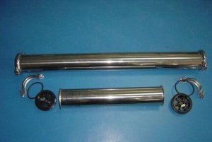 China Stainless Steel Ro Membrane Housing on sale