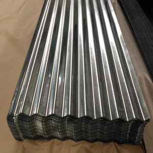 China Cold Rolled Ppgi Coils Ms Corrugated Steel Sheet on sale
