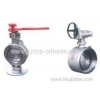 China Metal Seal Butterfly Valve for sale