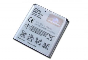 China Large capacity of Sony Ericsson S500/BST-38 high quality mobile phone battery on sale