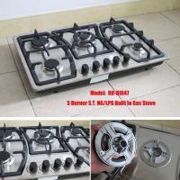 China High Quality 5 Burner Built in Gas Hob (RD-BI047) on sale