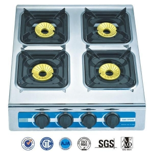 China 4 Burner S/S table gas stove (RD-GT020-3) 11.5mm gas pipe on sale