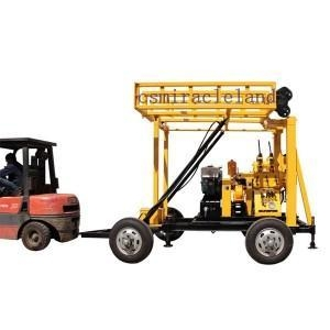 China YZJ-200YY Trailer Mounted Portable Drilling Rig on sale