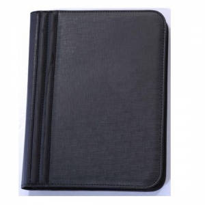 China Custom PVC plastic zip a3 a4 a5 size hardcover file embossing folder on sale