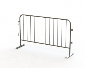 China Steel Plate Base -Portable Fence on sale