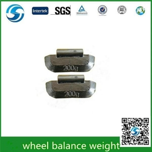 China Pb clip on wheel balance weight 200g for truck Lead Wheel balance weight on sale