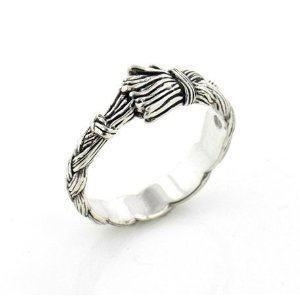 China silver band ring on sale