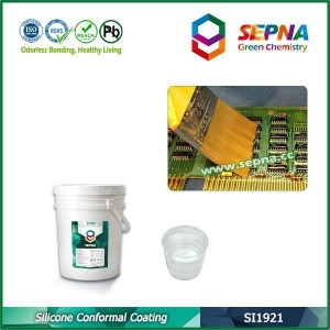 China Low Viscosity Silicone Conformal Coating on sale