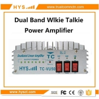 China Dual band Portable radio Amplifier TC-VU50 on sale