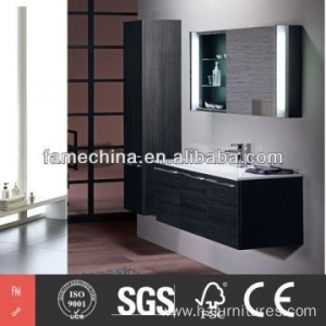 China 2014 Wood Veneer Bathroom Cabinet FM-MV1206 on sale