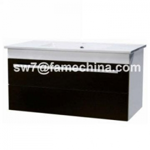 China Australia High Gloss Painting MDF Bathroom Wall Hung Vanity on sale