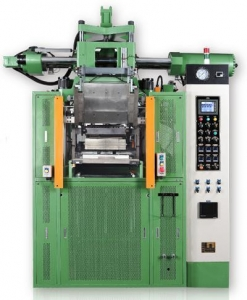China Vertical Rubber Injection Molding Machine(With Horizontal Injection Unit) on sale