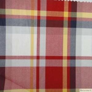 China poplin check fabric on sale