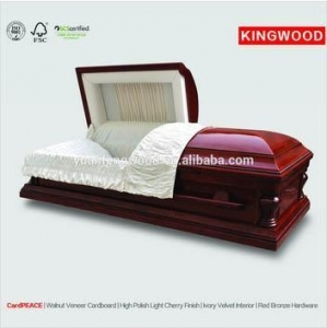 China PEACE CARDBOARD coffin caskets plastic coffin handles on sale