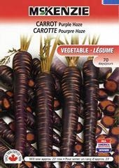 China McKenzie Seeds Carrot Purple Haze on sale