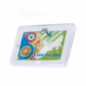 China USB Credit Card Flash Drive Transparent Magnetic Plastic Boxes on sale