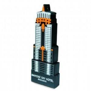 China Tall Buliding Custom USB Memory Sticks with Logo Brand on sale