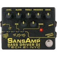 China TECH 21 Bass Driver DI Version 2 Bass Guitar Pedal on sale