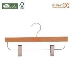 China Light Wood Bottom Pants Hanger on sale