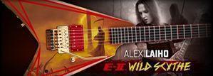 China ESP E-II Signature Series Alexi Laiho Wild Scythe 6-String Electric Guitar 2016 on sale