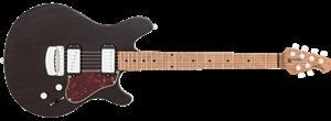 China Ernie Ball/Music Man James Valentine Trans Black 6-String Electric Guitar 2016 on sale