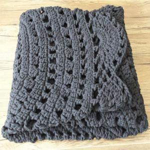 China Easy Crochet Baby Blanket Crochet Afghan Patterns on sale