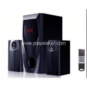 China 2.1 powerful multimedia speaker with USB SD FM on sale