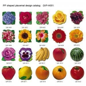 China PP & PVC(Vinyl) Placemat on sale