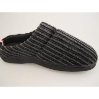 China Normal Roonshoes The Beautiful Corduroy TPR Out-seem Warm Pink Men Slippers on sale