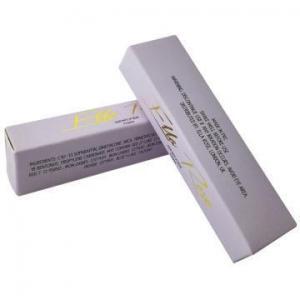 China Popular Glitter Lip Gloss Coated Paper Box on sale