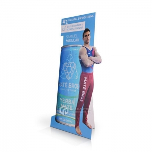China Advertising Cardboard Standee Display for Retail on sale