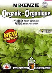 China McKenzie Seeds Parsley Italian Dark Green - Organic on sale