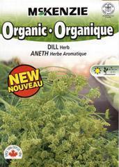 China McKenzie Seeds Dill Herb - Organic on sale