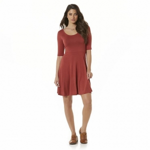 China Simply Styled Women's Jersey Knit Skater Dress on sale