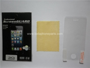 China HD Matte Transparent Screen Protector for iPhone 3G on sale