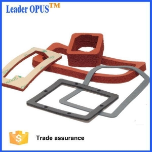 China Die Cut Silicone Foam Gaskets on sale