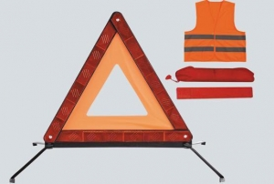 China Car Warning Triangle And Vest on sale