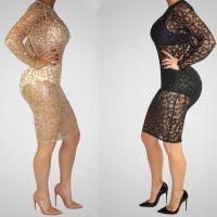 Mesh Night Club Dress in Brown & Black ZC9090 #ZC9090
