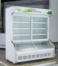 China Dish-Ordering cabinet half freezer half refrigerator DLCD-18J on sale
