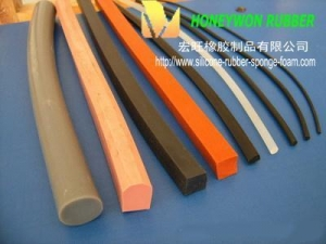 China Extruded Silicone Rubber on sale