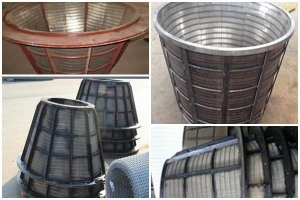 China stainless steel screen basket on sale