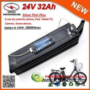China 24V 29Ah Electric Bike Lithium Battery pack with Panasonic 18650 Cell on sale