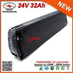 China China Manufacturer 24V 29Ah Electric Bike Battery Price with Panasonic 18650 Cell on sale